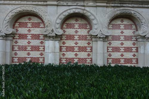 Portail du cimetière d'Asnières Canvas Print