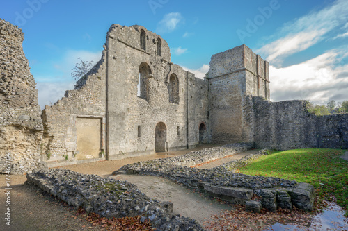 Photo Winchester ruin architecture at Wolvesey Castle