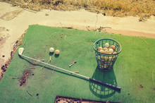Abandoned Golf Course Old Gras...