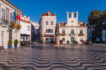Cascais - Rathausvorplatz; Lissabon; Portugal