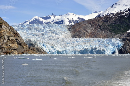 Plakat Lodowiec w Tracy Arm Fjord, Alaska, USA