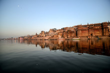 Varanasi From The Ganga River