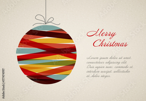 christmas card layout 1 - Christmas Card Layout