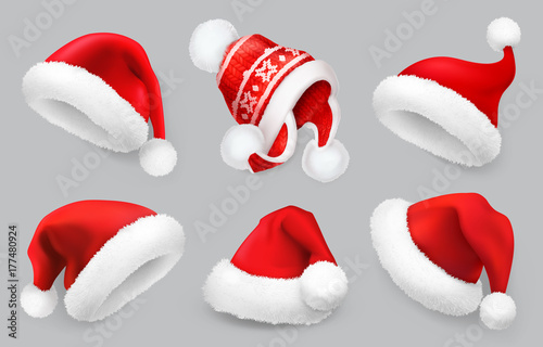 Photo  Santa Claus hat