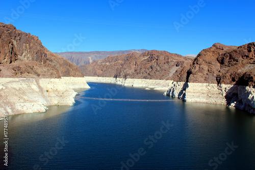 Fototapeta Hoover Dam Lake