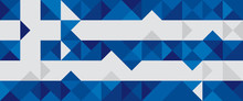 Abstract Greece Flag, Greek Ve...