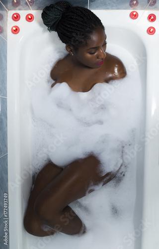 Pics of sexy black women in bath