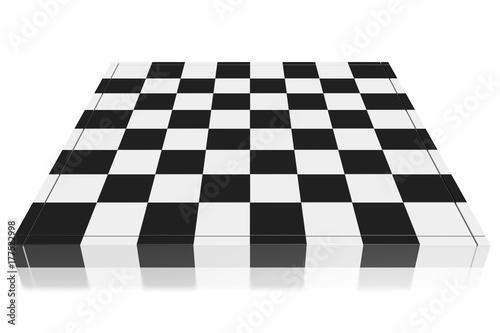 Cuadros en Lienzo 3D chessboard