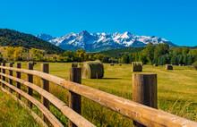 Autumn Farming In Colorado