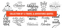 Set Of Adventure And Travel Ve...