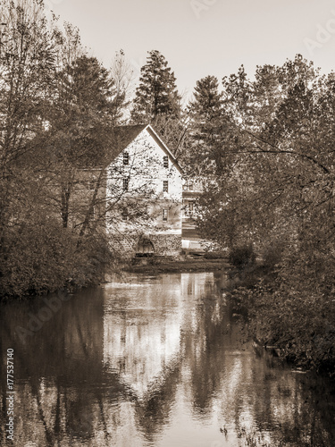 Photo  Gristmill Reflection