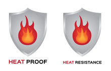 Heat Proof And Resistance Vect...