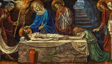 Jesus Christ Lying Death In Hi...