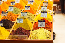 Spices In The Grand Bazaar