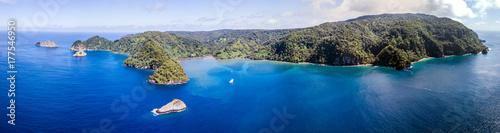 Spoed Foto op Canvas Eiland Cocos Island, Costa Rica