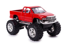Big Metal Red Toy Car Offroad ...
