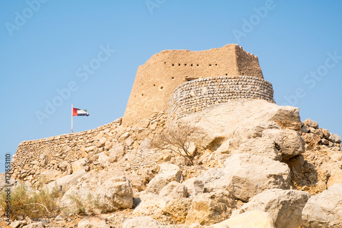 Papiers peints Fortification Dhayah Fort, Ras al Khaimah, United Arab Emirates