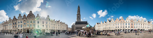 Arras place du beffroi Wallpaper Mural