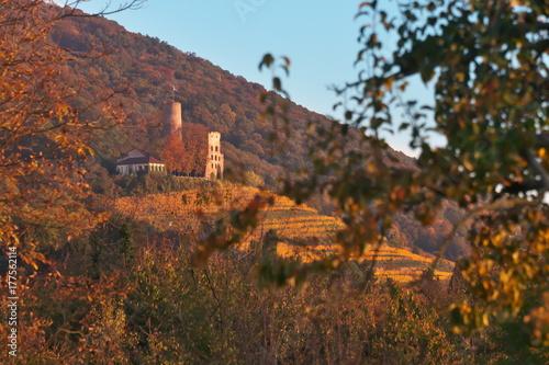 Fototapeta Zamek promieniowania w upadku