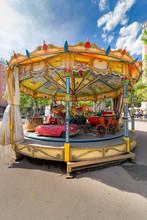 Children's Roundabouts. Bright...
