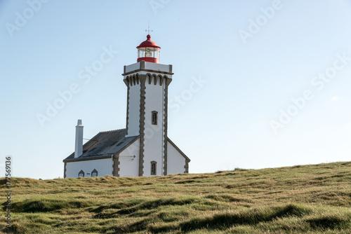 Zdjęcie XXL latarnia źrebięta na pięknej wyspie na morzu