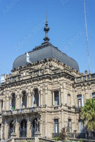 In de dag Madrid Government Palace in Tucuman, Argentina.