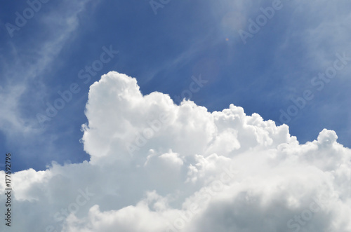 Canvas Prints Heaven blue sky with clouds