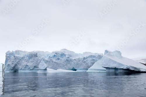 A giant iceberg in the Antarctic Peninsula