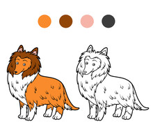 Coloring Book, Dog Breeds: Col...