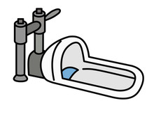 和式トイレ(色)
