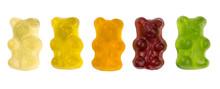 Row Of Fruity Gummy Bears
