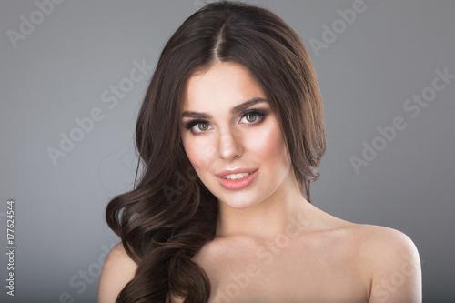 Plakat Piękna kobieta portret