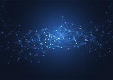 Abstract Technology Big Data V...