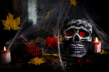 Happy Halloween Party Table Wi...