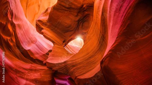Foto op Canvas Baksteen Scenic canyon Antelope