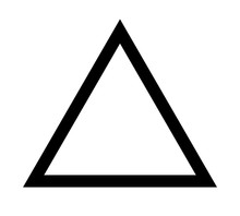 Triangle Up Arrow Or Pyramid L...