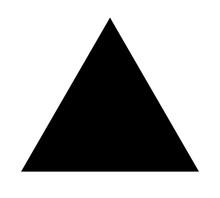 Triangle Up Arrow Or Pyramid F...