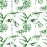 Stylizowane kwiaty - 177682309