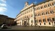 Montecitorio square. Italian parliament.