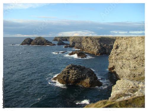 Plakat Piękna Wyspa Morska - Jaskinia Apotikonowa