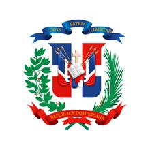 Coat Of Arms Of Dominican Repu...