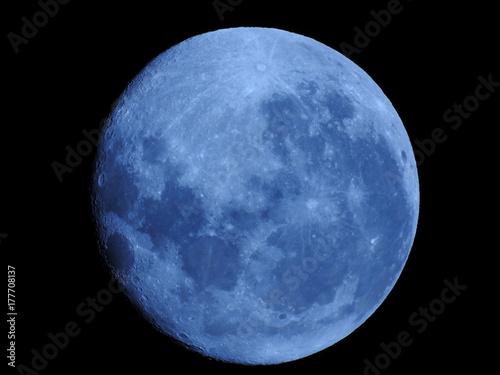 Fototapeta Waning Gibbous 94% Full Moon