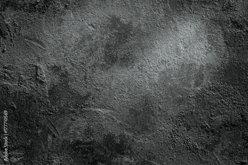 Poster Nature Dark wall background