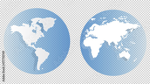 World map on transparent background vector eps 10 concept of the world map on transparent background vector eps 10 concept of the world for web gumiabroncs Choice Image