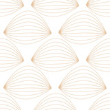 Geometric brown and white seamless pattern for fabrics - 177715712