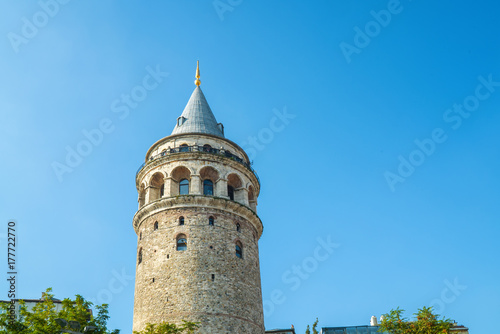 Fototapeta wieża galata