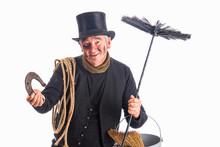 Chimney Sweep Wishing Good For...