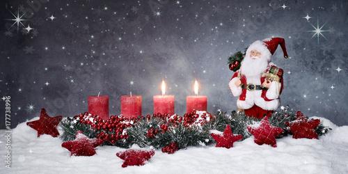 Bilder Zweiter Advent Zweiter Advent mit Nikolaus – kaufen Sie dieses Foto und finden