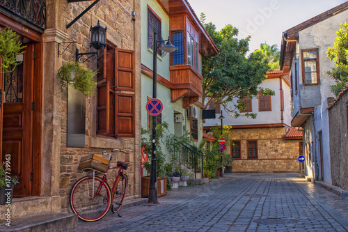 Fototapety, obrazy: Streets of old town Kaleici - Antalya, Turkey