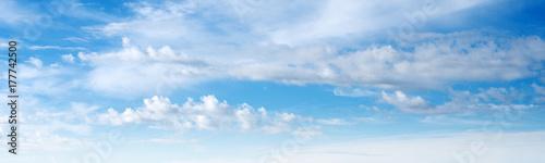 Canvas Prints Heaven Sky ultramarine clouds
